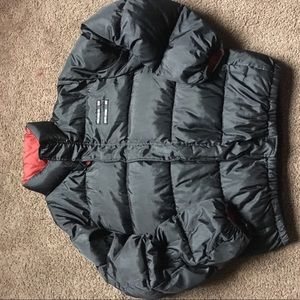 Vintage Polo sport bubble coat puffer